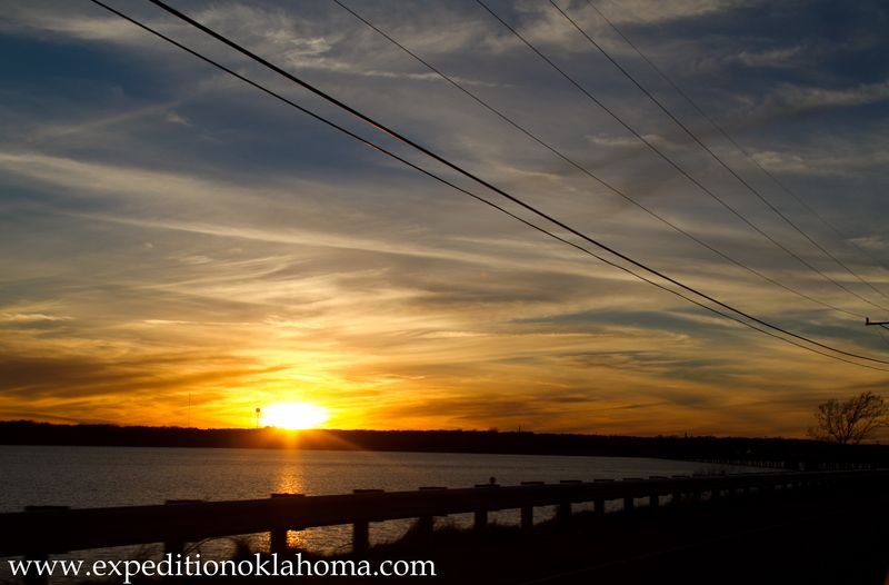 Sunset on Lake Texoma-7264