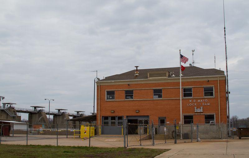 W.D. Mayo Lock and Dam Oklahoma-9454