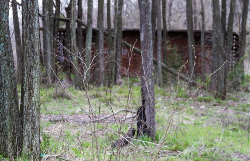 Abandoned Campground near the Arkansas River-9455