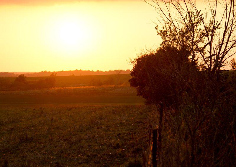 Sunset in Oklahoma -8305