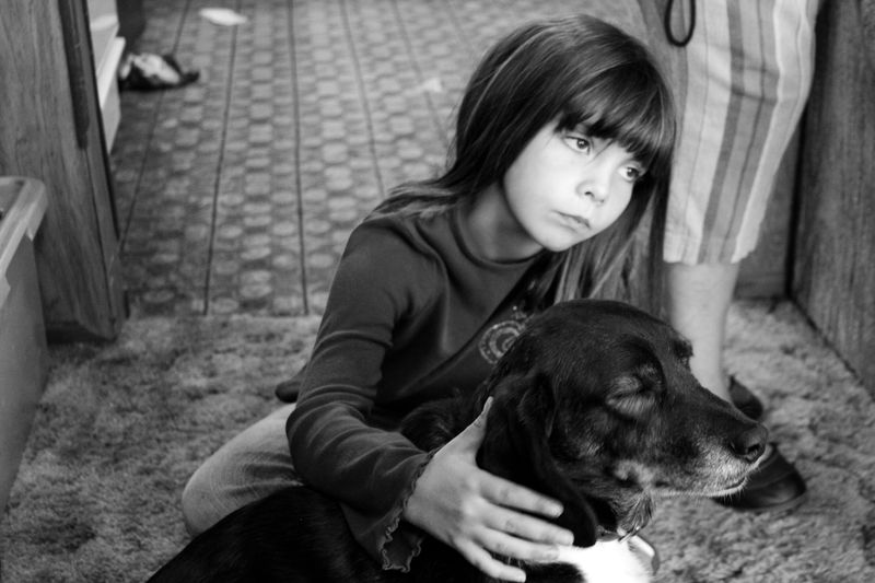 Ali and the Dog-9014