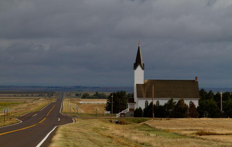 A prairie church-9172