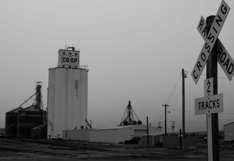 Oberlin Kansas Grain Elevator-8464