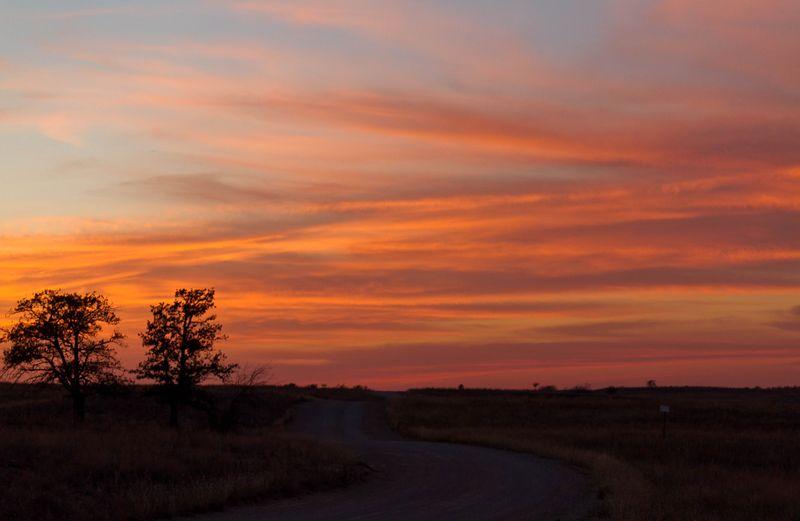 Sunset on the Range-2134