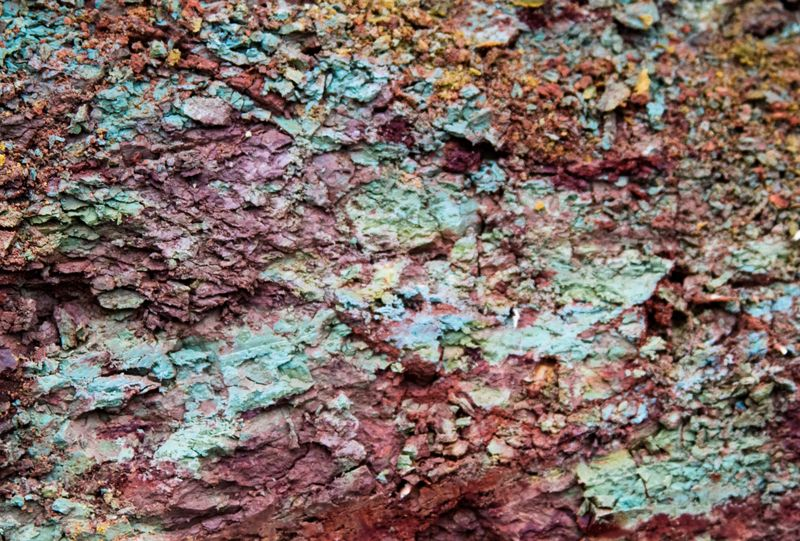 Glauconite in Stephens County Oklahoma-6558