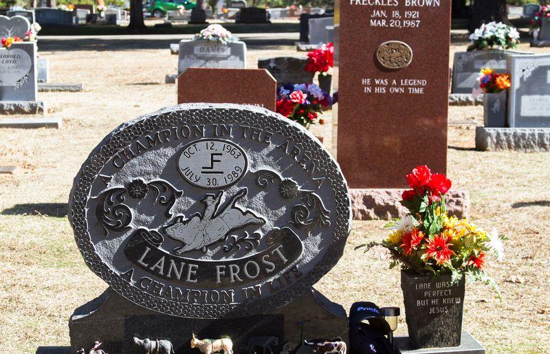 Lane Frost Grave-7036