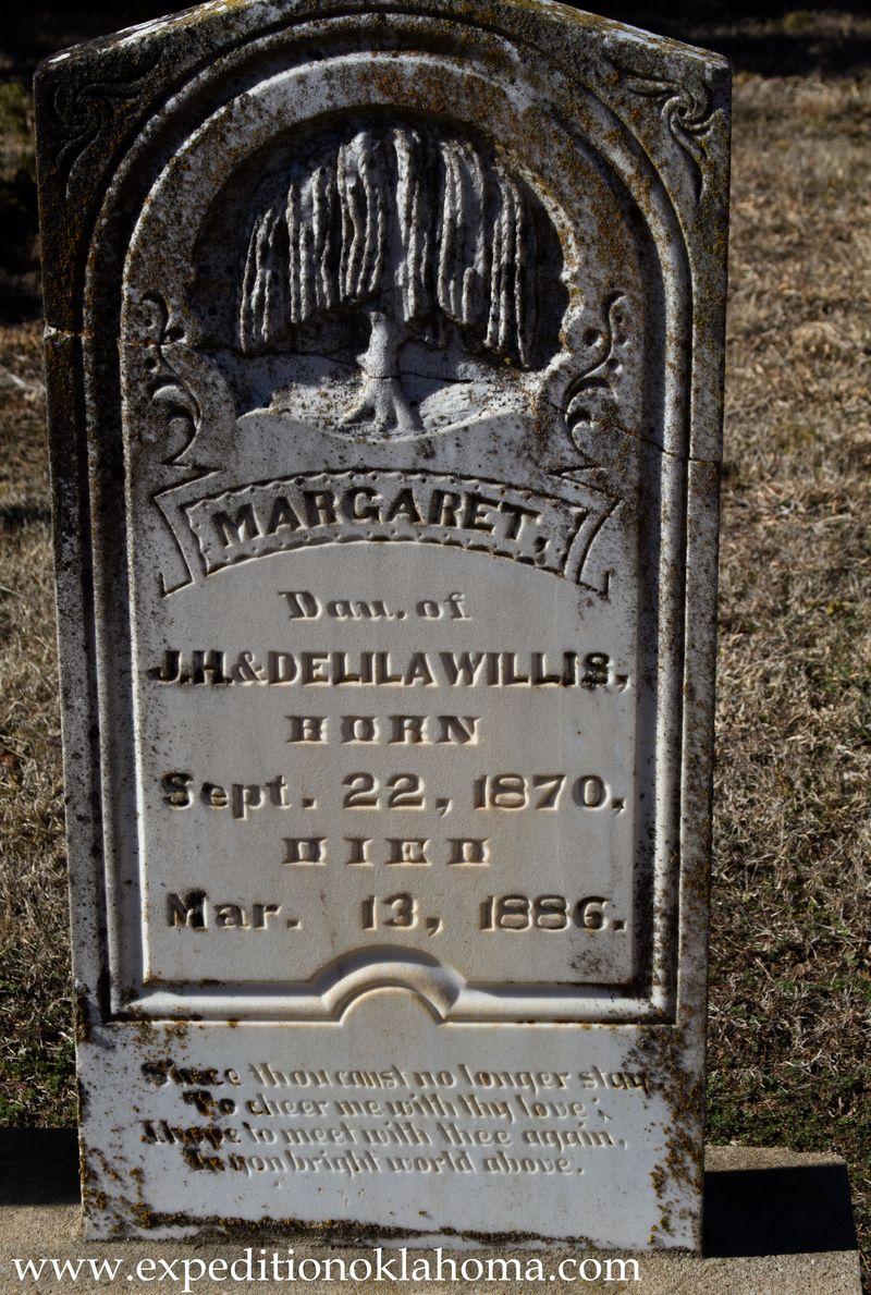 Margaret Willis  buried at Ft. Towson-7156