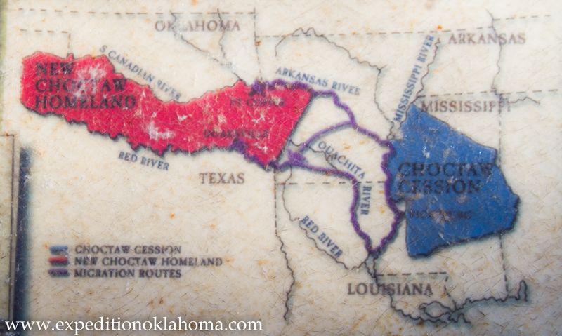 Choctaw Cession to Indian Territory-7173