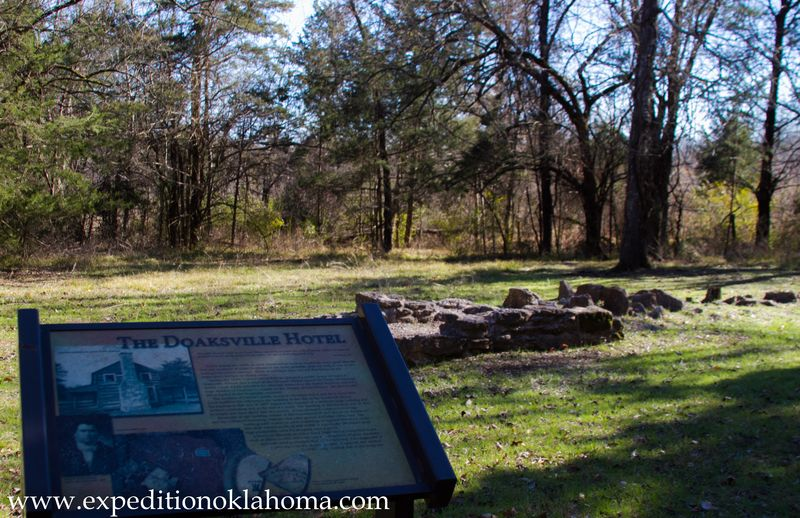 Doaksville Hotel Ruins in the Choctaw Nation-7189