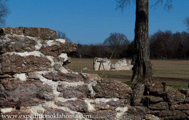 Fort Towson Ruins-7133