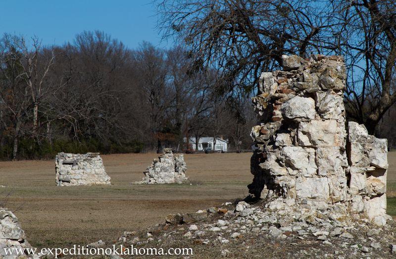 Fort Towson Ruins-7137