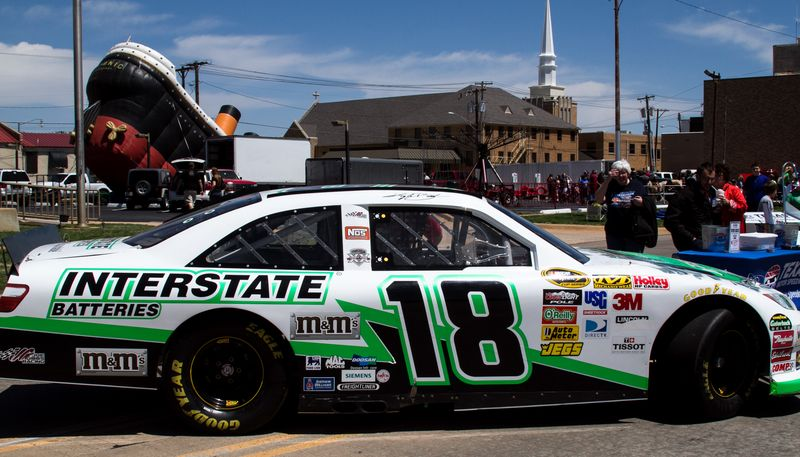 Interstate Batteries and M&M Car -0783