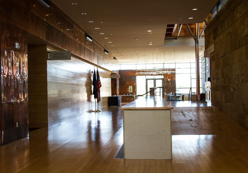 Inside the Chickasaw Cultural Center-0957