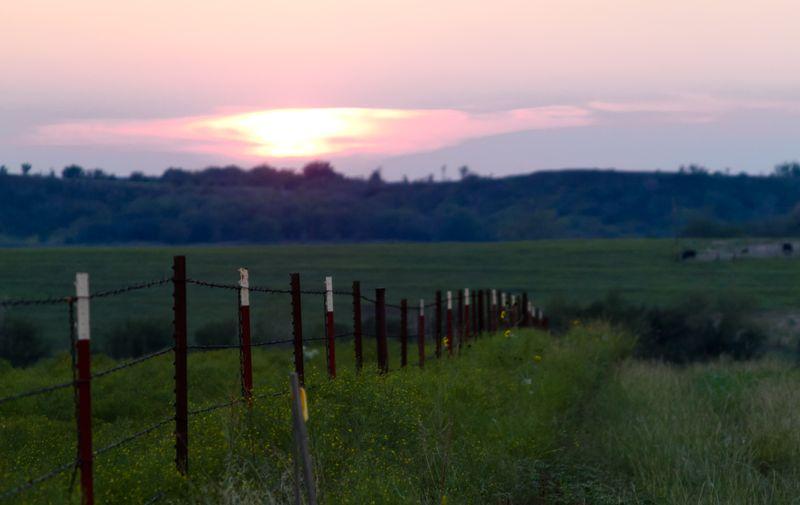 Sunset near Strains-8371