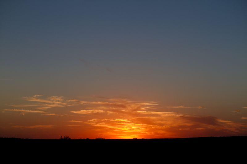 Agawam Sunset of the Wichita Mountains-1846