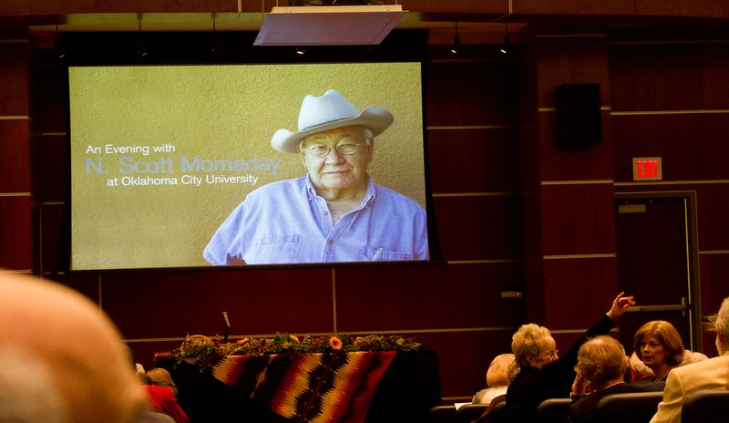 An evening with N. Scott Momaday-2192
