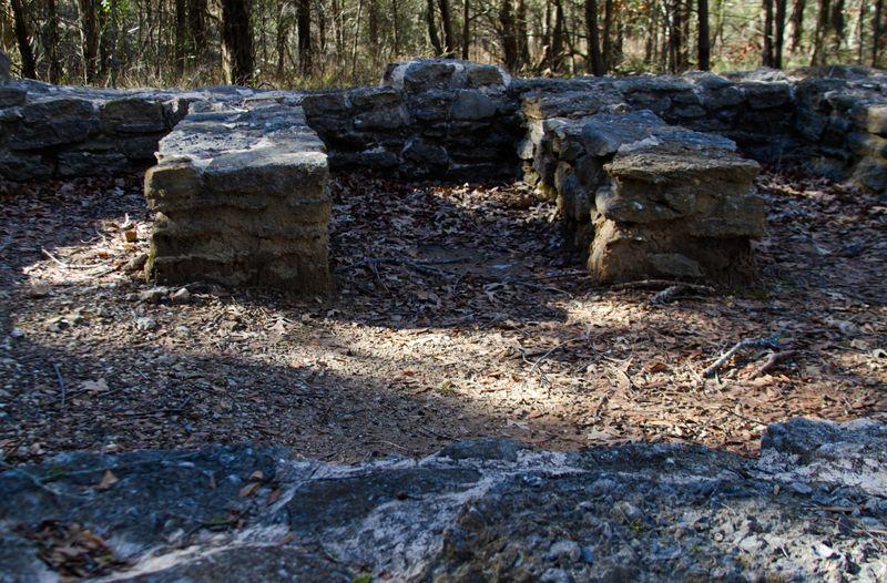 Ruins of old Doaksville Jail-7230