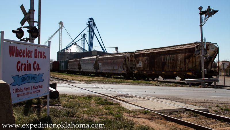 Wheeler Grain Elevator Cordell Oklahoma-8318