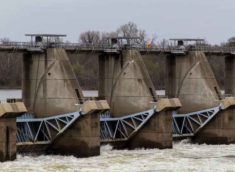 W.D. Mayo Lock and Dam Oklahoma-9443