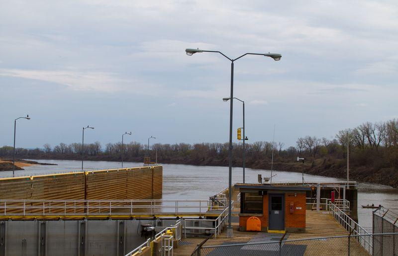 W.D. Mayo Lock and Dam Oklahoma-9446