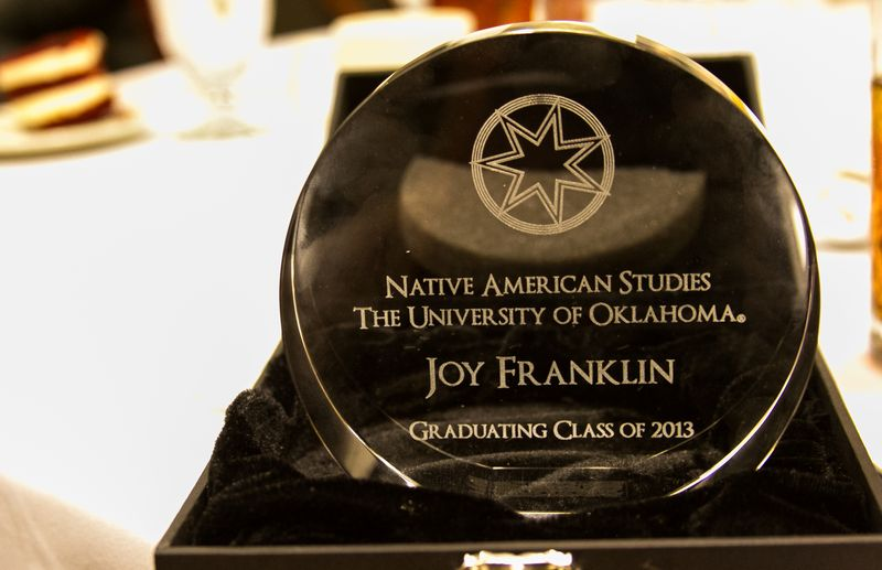 Native American Studies Banquet at OU 2013-2013