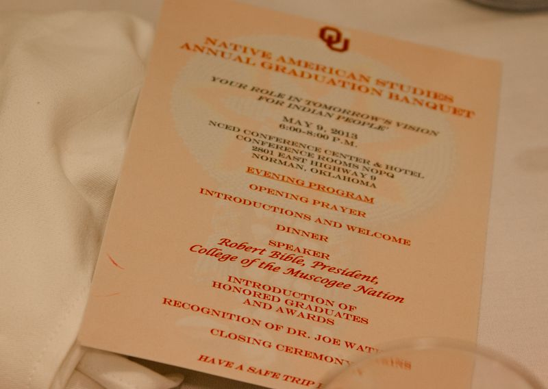 Native American Studies Banquet at OU 2013-2038