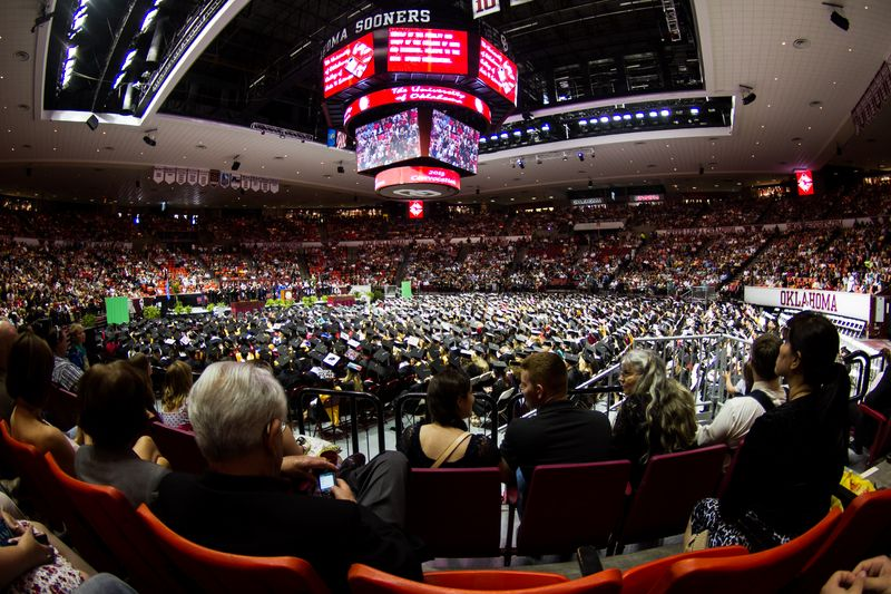 University of Oklahoma Convocation-2516