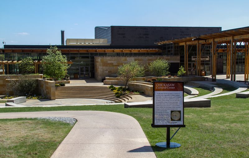 Chickasaw Cultural Center in Sulphur Oklahoma-0930