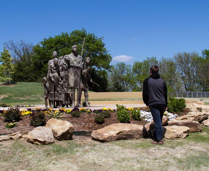 Chickasaw Cultural Center in Sulphur Oklahoma-0931