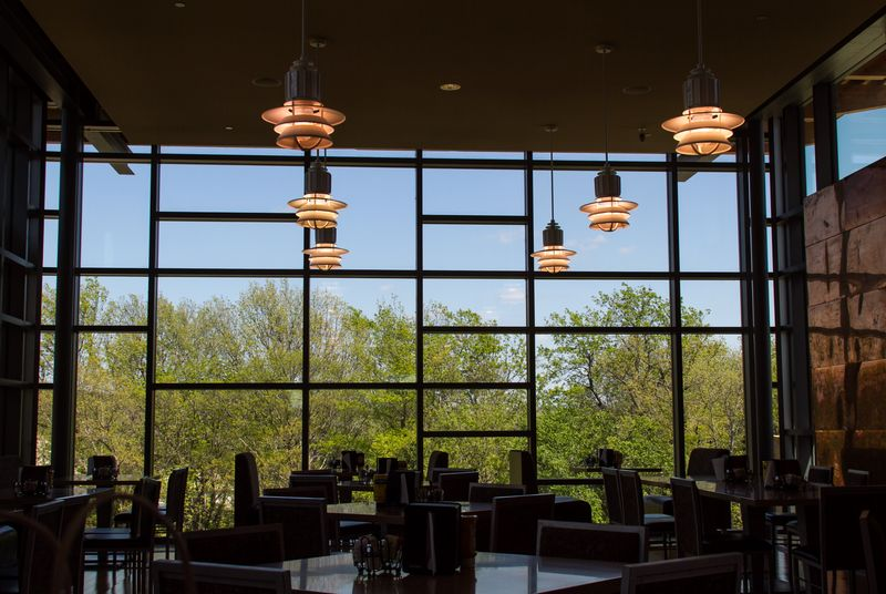 Dining room of the Chickasaw Cultural Center-0955