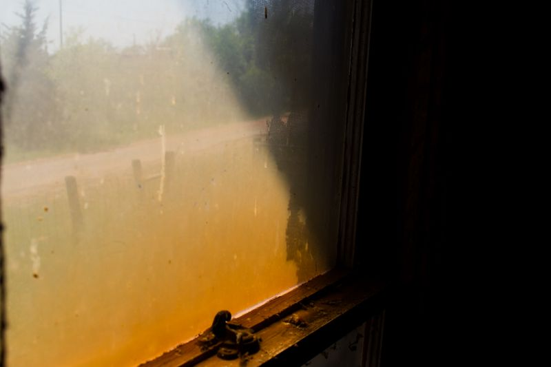Hazy window -1342