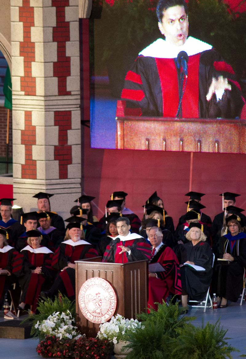 University of Oklahoma Commencement 2013-2306