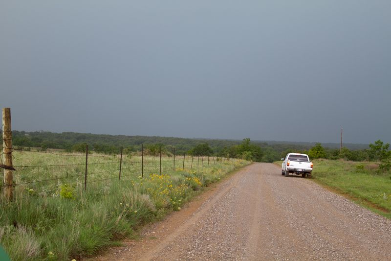 Storm Clouds on the Range in Rural Stephens county-3807