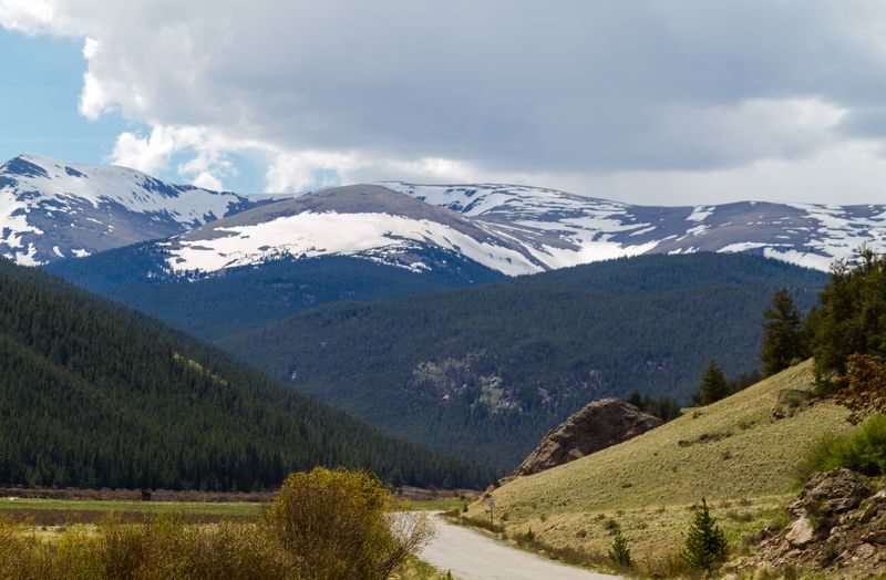 Guanella Pass in between Georgetown and Grant Colorado-5529