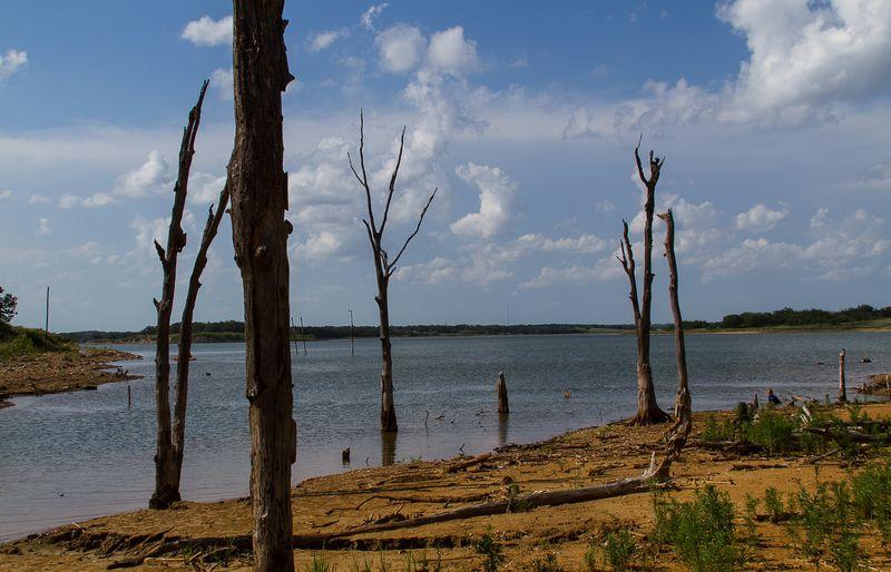 Lake Fuqua in Stephens County Oklahoma-6294