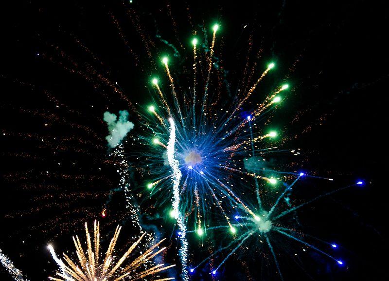 Fireworks at Marlow Oklahoma by Joy Franklin Photography-8012