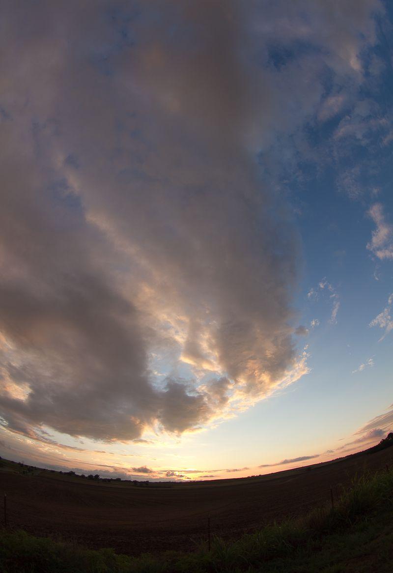 Fisheye sunset-8855