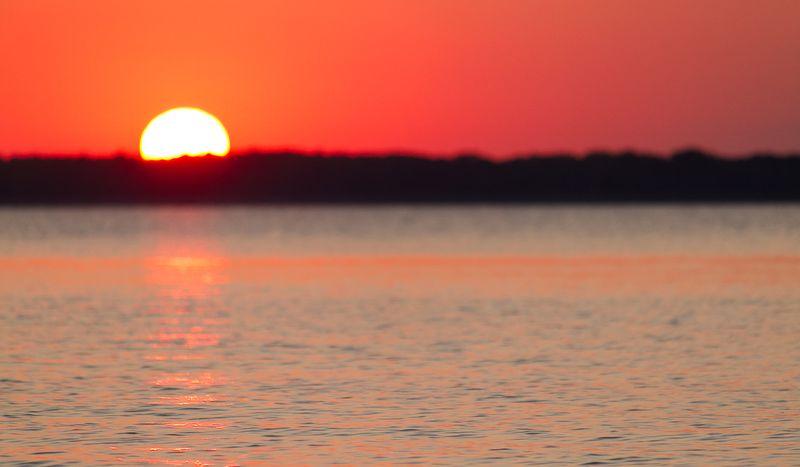 Beautiful Sunset in Southern Nebraska by Joy Franklin-0105