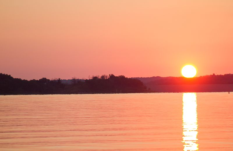 Sunset at the Lake of the Arbuckles-1151