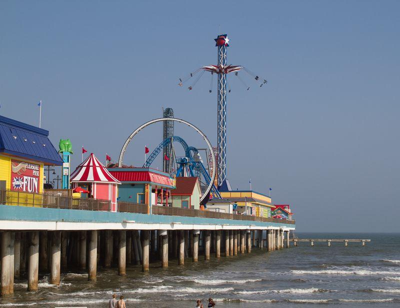 Galveston Pleasure Pier-2775
