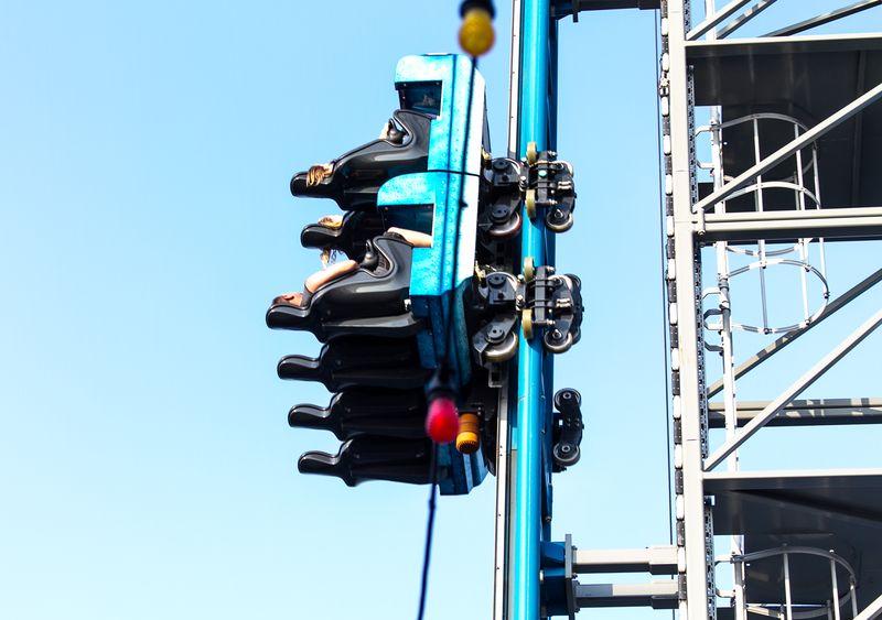 Roller Coaster in Galveston (1 of 1)