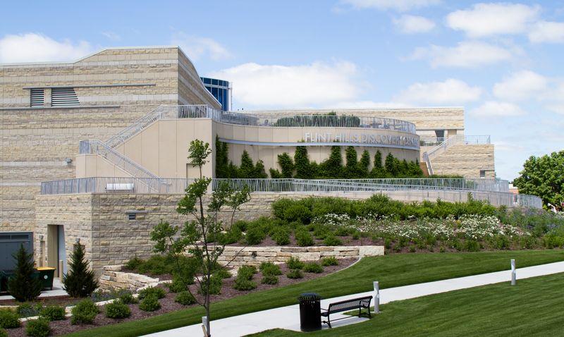Flint hills discovery center in Manhattan KS-4253
