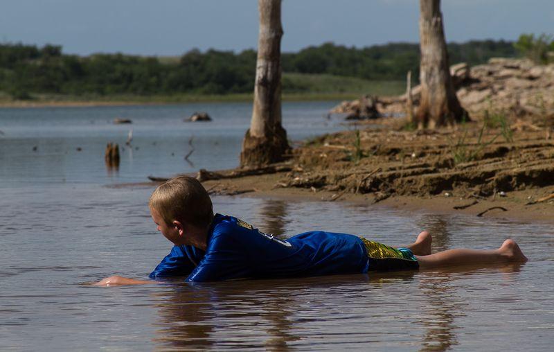 Lake Fuqua in Stephens County Oklahoma-6303