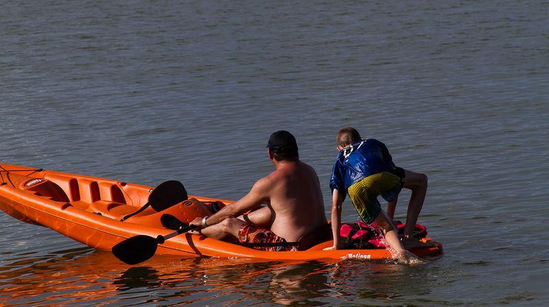 Kayaking with Dad -6334