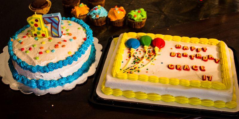 17th Birthday Cake-6483