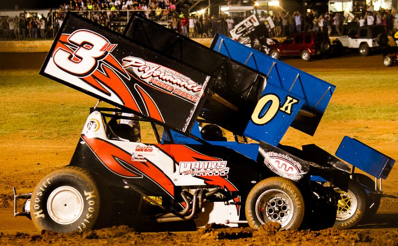 Sprint Cars at Lawton Speedway-6617