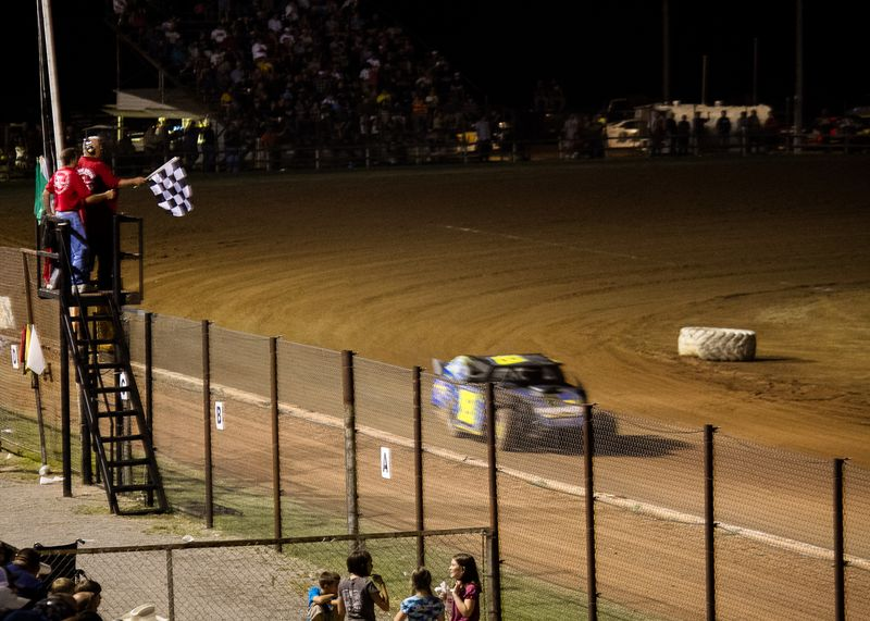 Racing at the Lawton Speedway-6693
