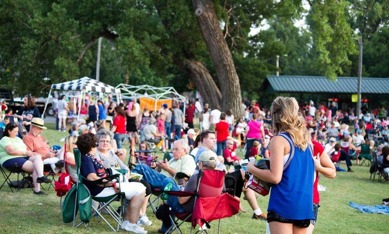 Fireworks at Marlow Oklahoma by Joy Franklin Photography-7852