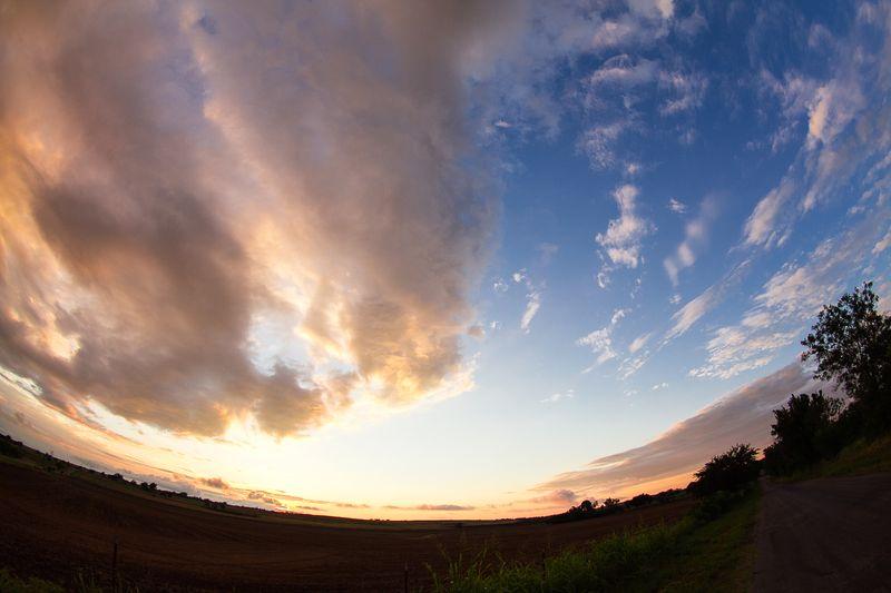 Fisheye sunset-8864