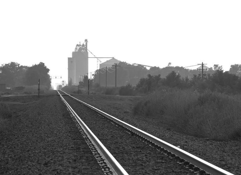 Edison Nebraska Rail Grey Scale July 2013-9784